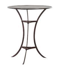 Table bistro Carignan fer0101300012