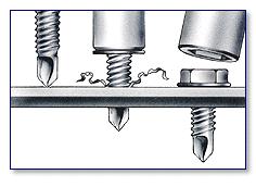 Clim self-drilling screws