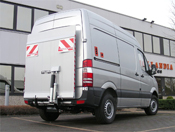Tail lifts for vans.DH-LSP   500 kg