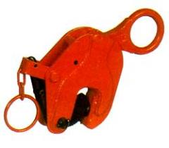 Vertical lifting clamp
