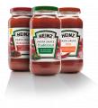 Sauces pour les pâtes de Heinz