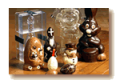 Chocolates hollow figures