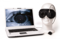 Monocular for observing eye movement Video Frenzel USB