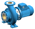 Close-coupled horizontal centrifugal pump to EN 733 (DIN 24255)