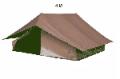 Tentes patrouille 4X4M  (ref 14000 )