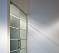 Portes intérieures en verre accueillantes Cristal
