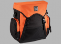 Single backpack Willex Black/Orange