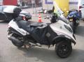 Motocyclette à trois roues Piaggio MP3 400 LT