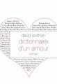 Livre pour adultes Dictionnaire d'un amour - David Levithan
