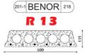Éléments de plancher en béton armé avec un fond rugueux R 13