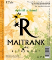Apéritif artisanal Maitrank