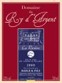 Vin rouge Rivière 2009 Domaine du Ry d'Argent