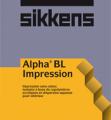 Peinture d'interieur Alpha BL Impression