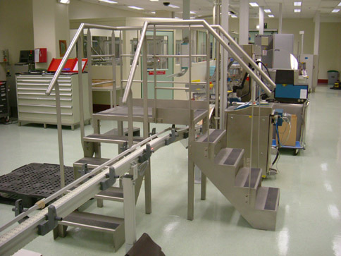 Commande Microbillage des produits en inox