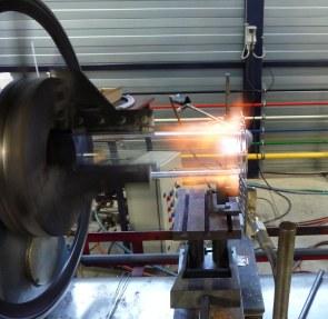 Commande Soufflage de verre, fabrication de verrerie en Quartz et borosilicate