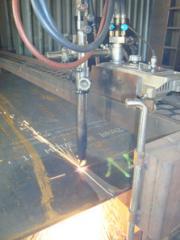 Découpage de tôles en acier