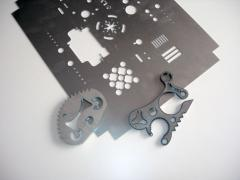 Découpe au laser CNC
